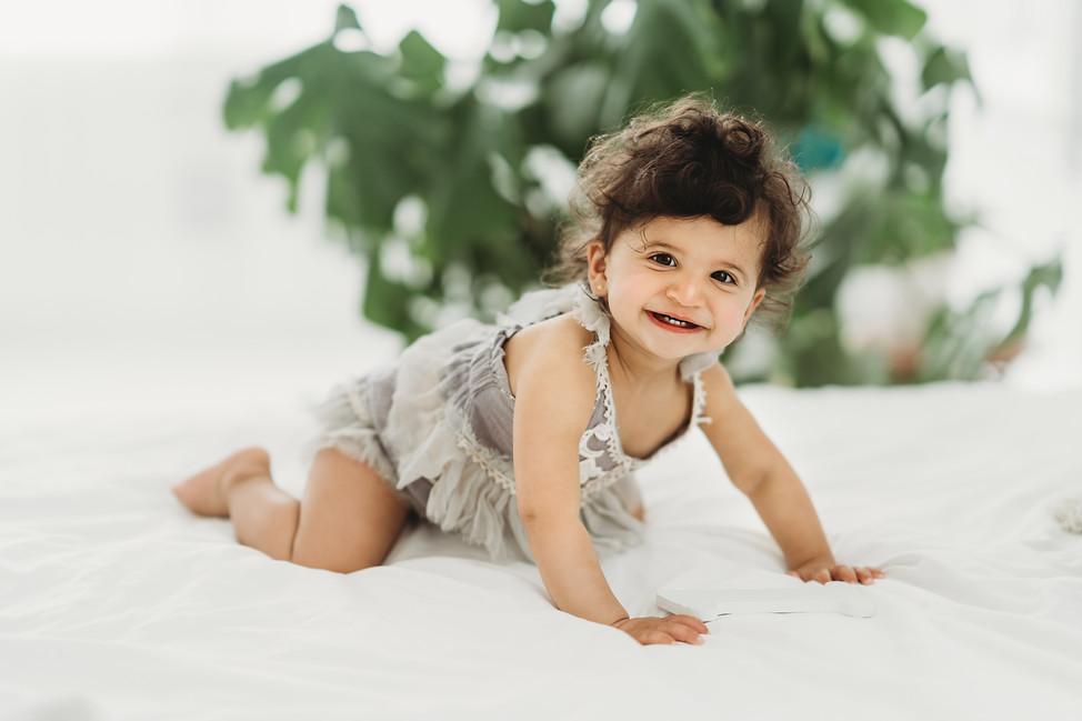 Lucy turned one, Idamakanti's Family || Locust and Vine, Cincinnati