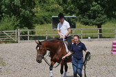 Equestrian fun with Penny Marshall