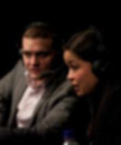 Rosi Sexton Cagwarriors commentary wth Josh Palmer