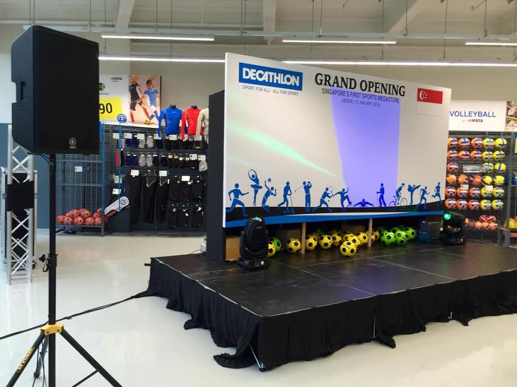 Decathlon Grand Opening