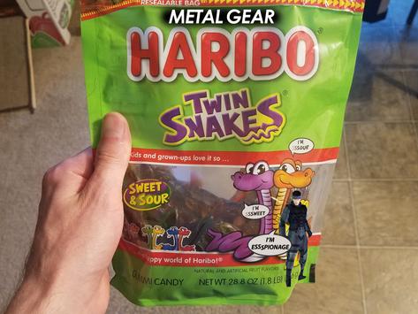 Metal Gear Haribo: Twin Snakes