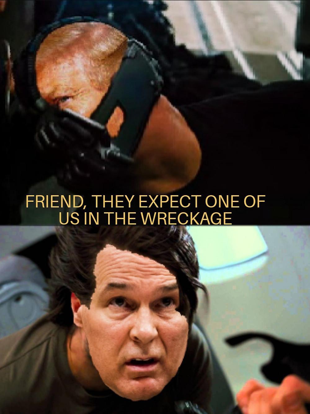 That one scene from the third Dark Knight movie
