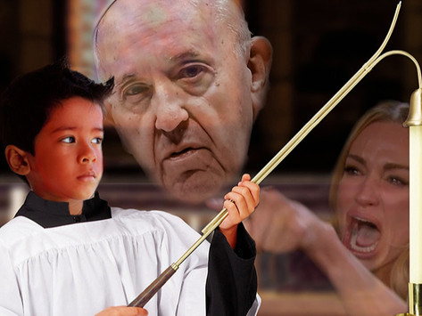 Altar Boy on Third Attempt to Extinguish Candle Really Feeling God's Mockery