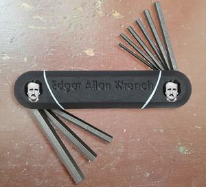 Edgar Allen Poe Allan Wrench