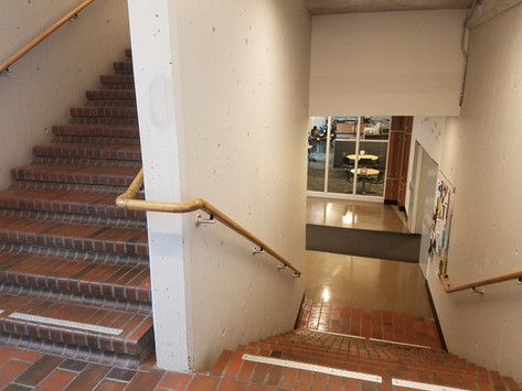 Quick Stare: The Evergreen State College, CAB North East Stairwell