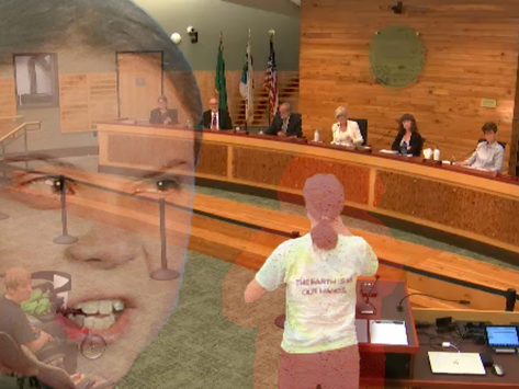 """""""You Don't Even Piss Without Asking First"""" OHS Climate Action Club Instructs City Council"""