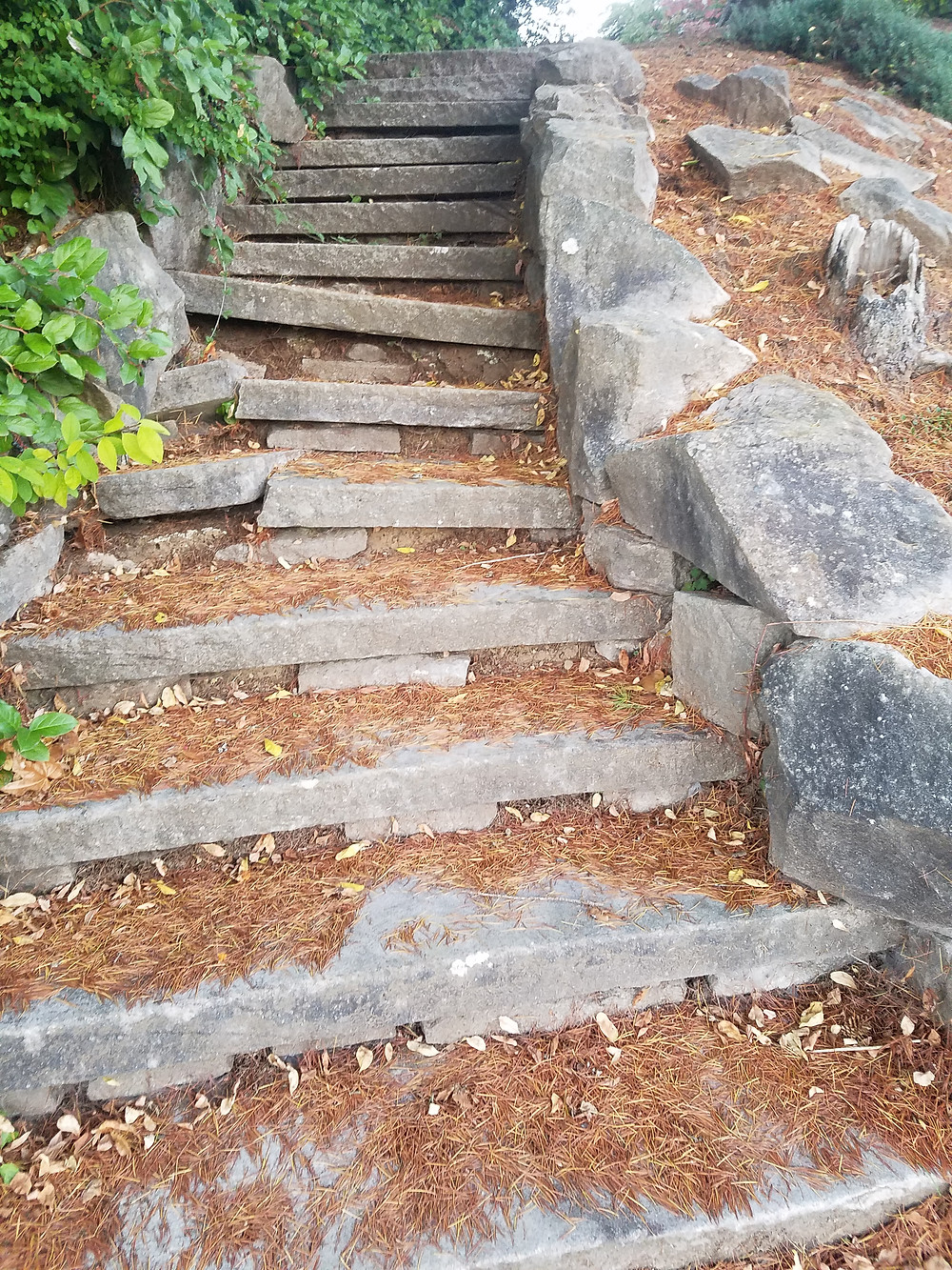 Cool stone stairs