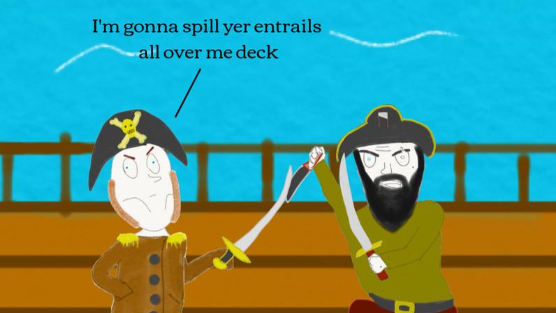 Longflank's Treachery--Very Bored Pirates Ep. 5
