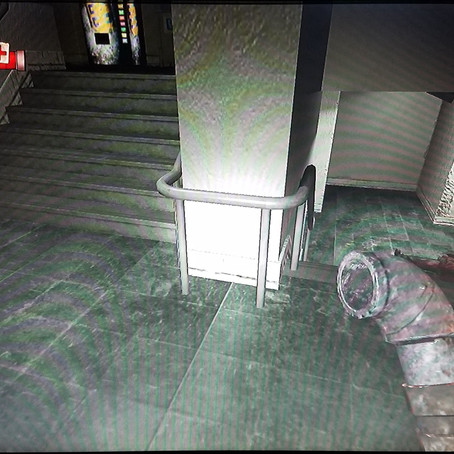 Condemned: Criminal Origins, Ch.2 different stairwell, boi