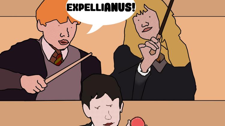 The Expellianus Spell