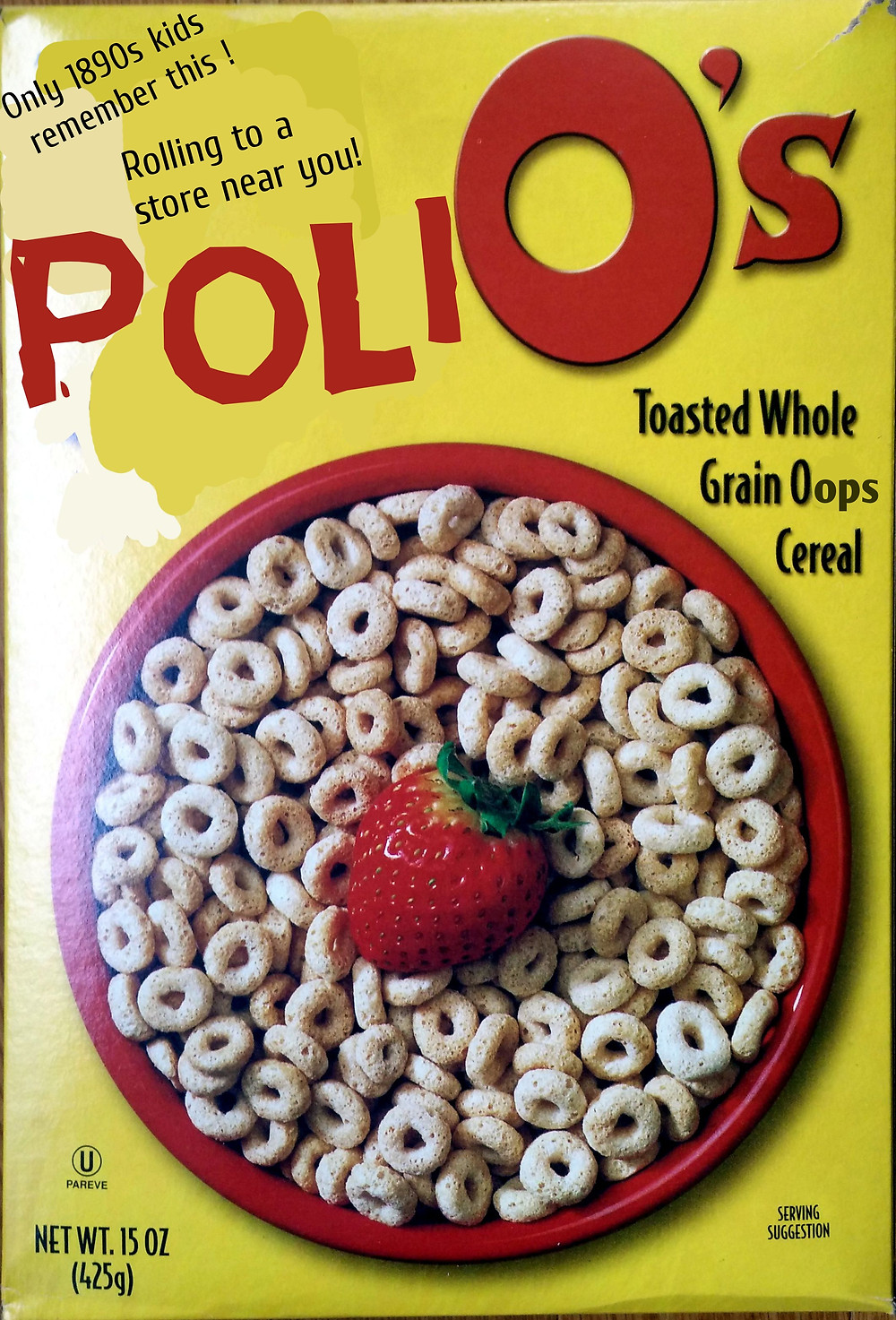 Not your dad's cereal, but maybe your granddad's