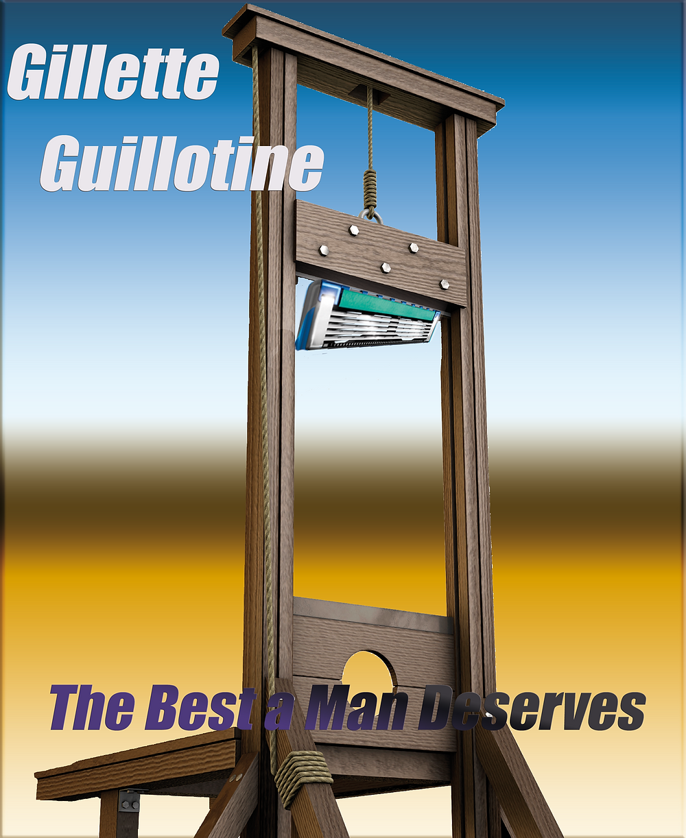 Gillette Guillotine the best a man deserves