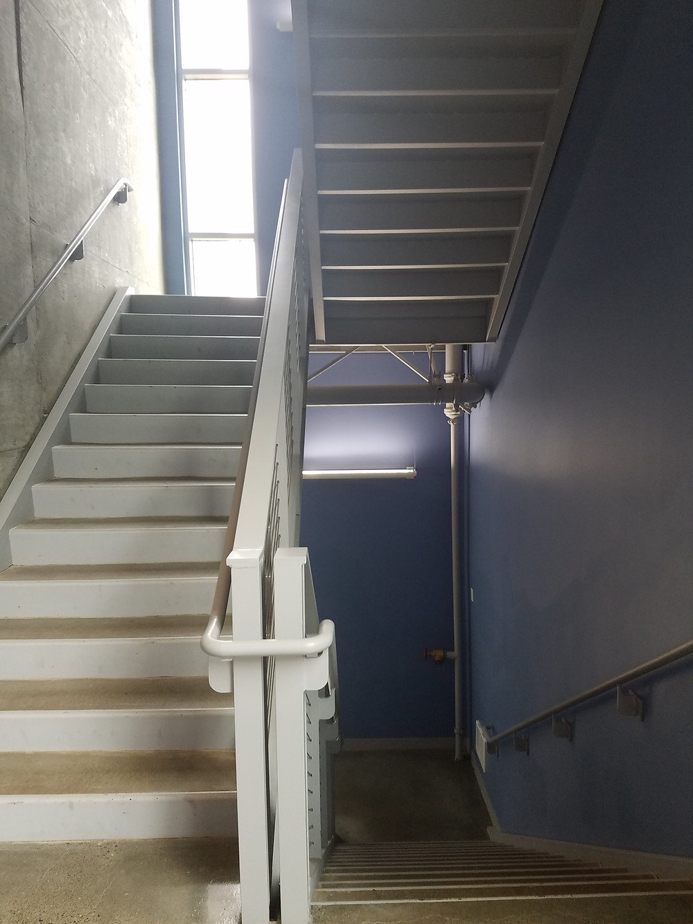 The least-used stairwell in the 2000 building