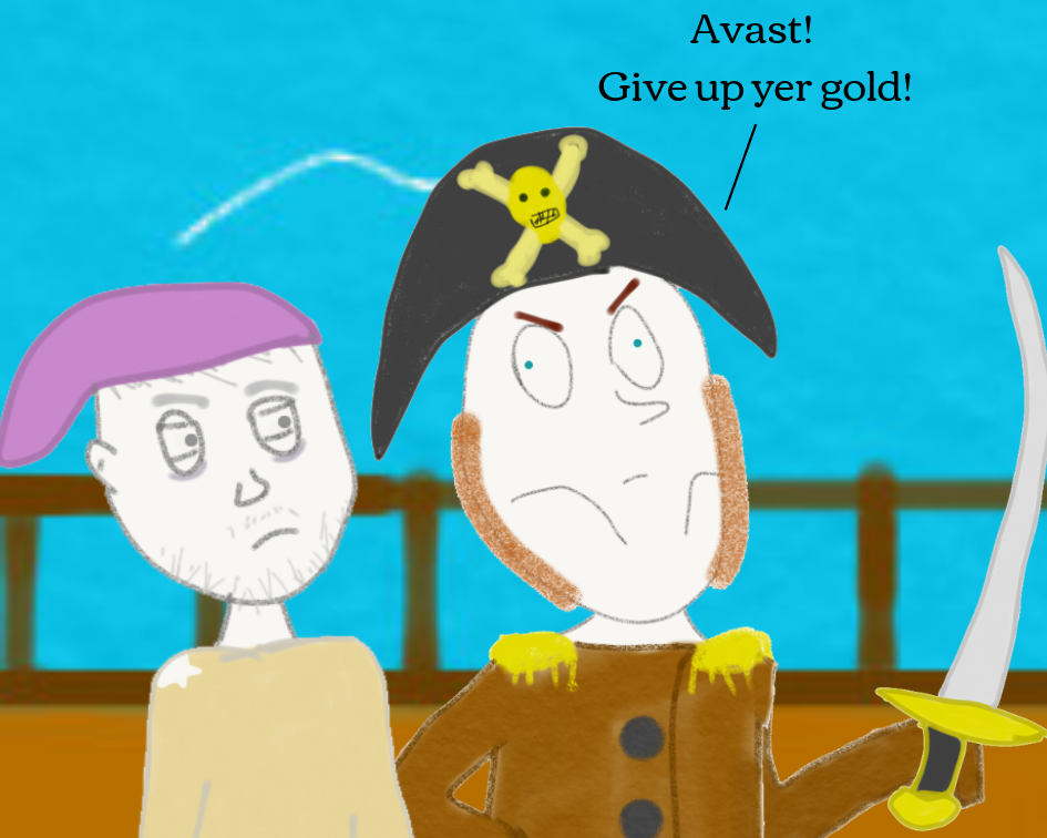 Very Bored Pirates The Impotent Satyr