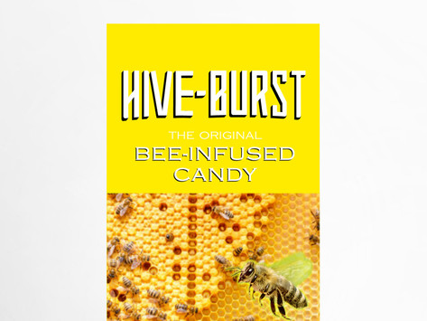 Hive-Burst   Bee-Infused Candy