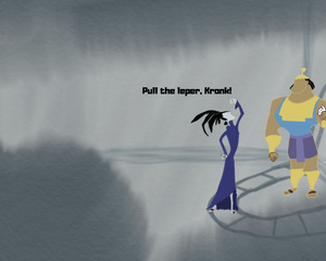 The Emperor's New Groove. Pull the leper, Kronk. The Impotent Satyr