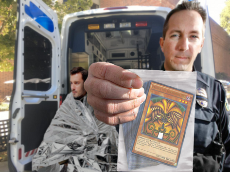 Oly PD Sweep 4th Ave Bridge Camp, Uncover Non-Regulation Yu-gi-oh Dueling Ring
