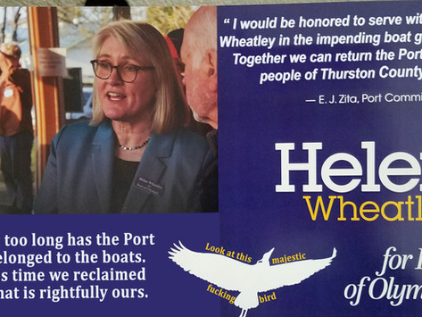 Helen Wheatley for Boat Decommissioner