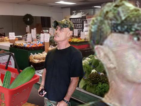 Horrified Jay's Shopper Realizes Basket Exclusively Phallic Veggies, Adds Nuts to Avoid Suspicion