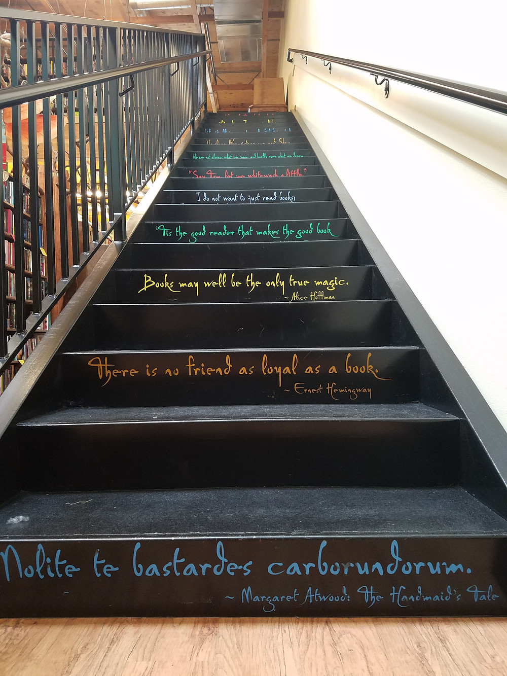 Quotes on every other step