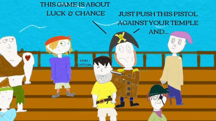 It's All Fun & Games Until Someone Who Lost an Eye Loses Their Mind--Very Bored Pirates Ep. 2