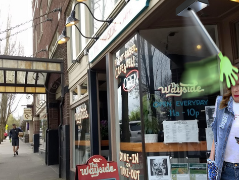 Wayside Cafe Makes Up for Cruelty-Free Fare w/ Auto-Slapper Upon Exit