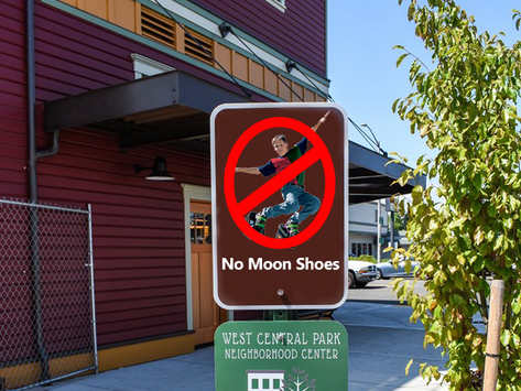Sorry 90s Kids, Park Side Cafe Denies Rooftop Dining to Moon Shoes Wearers