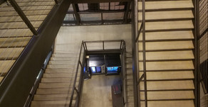 Quick Stare: The Evergreen State College Library Building, 3-Floor Above Vending Machines