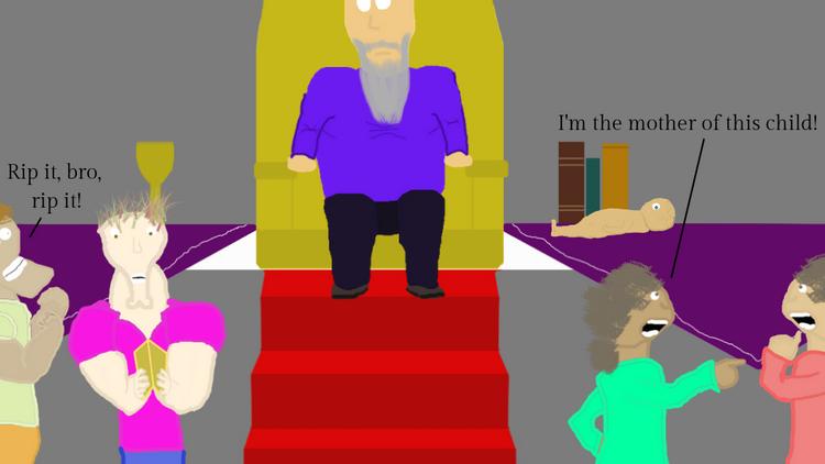 A Kid in King Solomon's Court