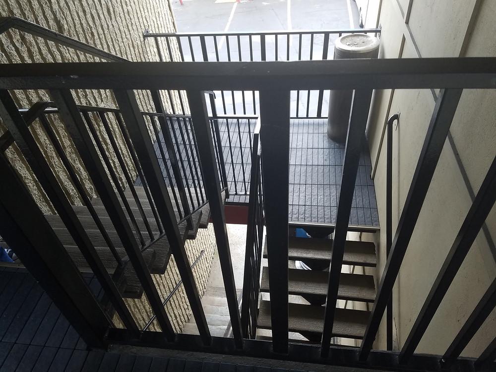 Your bare minimum stairwell