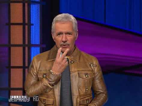 Alex Trebek Returns to Jeopardy w/ Leather Jacket, Fixation on Death