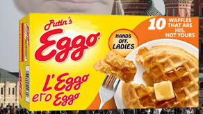 Putin's Eggo Waffles   L'Eggo его Eggo