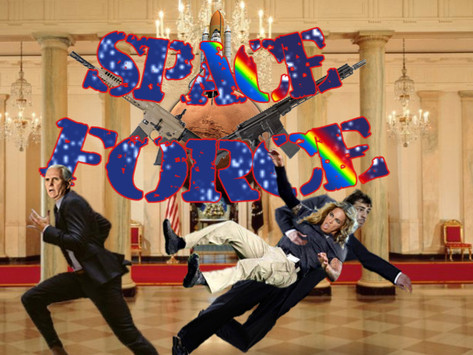 The Mike Pence Space (from women) Force