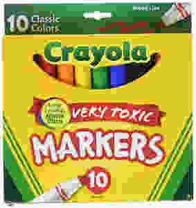 Crayola Very Toxic Markers, Long-Lasting Adverse Effects