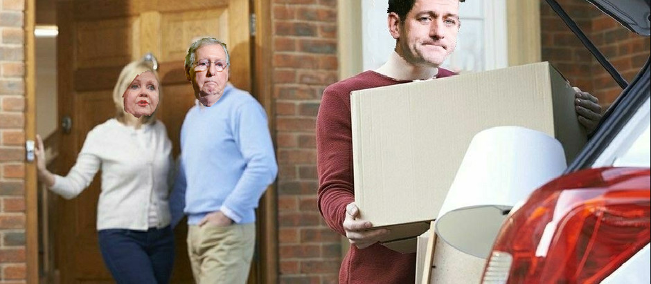 Paul Ryan Begins Cleaning Out Office, Packs Up Entire Papa Roach Discography