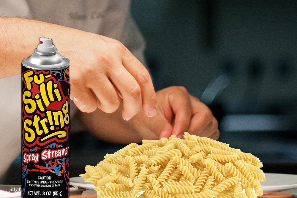 An underappreciated noodle-spray can product