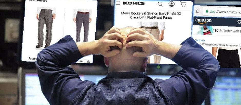 Record-Setting 1,600 Point Drop in Dow Prompts Unexpected Boom In Pants Industry as Traders Replace
