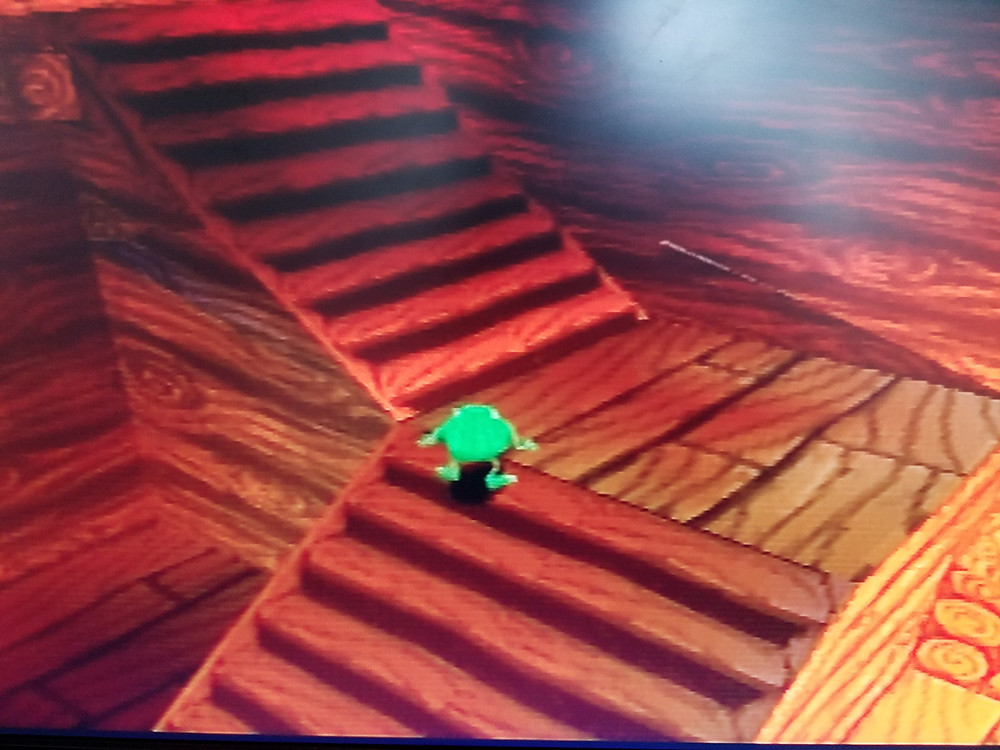 Monsters Inc playstation 1 stairwell