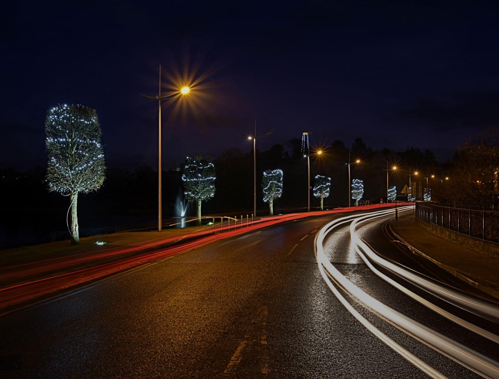 PDI - Light Trails by Caroline Johnston ( 9 marks)