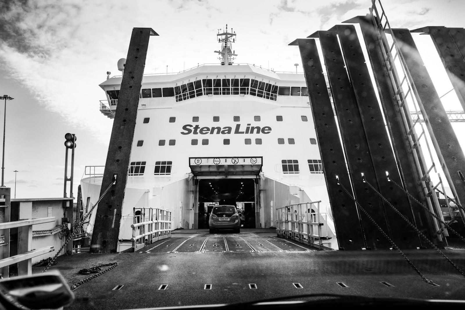 MONO - Boarding the Ferry by Anita Kirkpatrick ( 10 marks)