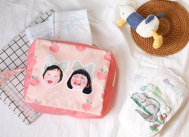 客製禮物|客製尿布袋 | 手拿包