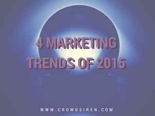 4 Digital Marketing Trends of 2015