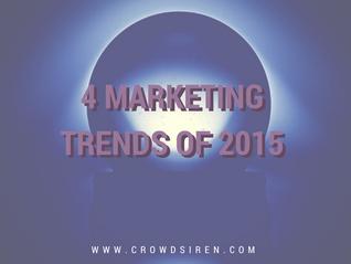 4 Digital Marketing Trends of 2015