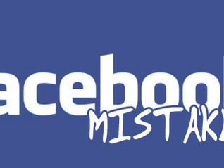 Don't make these 5 marketing mistakes on Facebook!