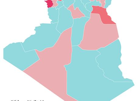 توسيع إجراءات الحجر الجزئي الى 9 ولايات اخرى في الجزائر