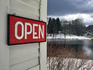 Open in Winter