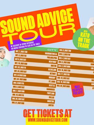 Kato announces his 24-city Sound Advice Tour for music creators