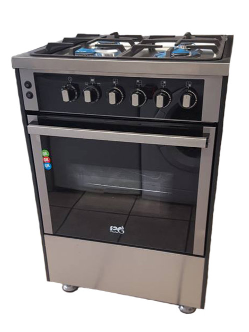 PG60SPG Stainless Steal 60cm Full Gas Cooker