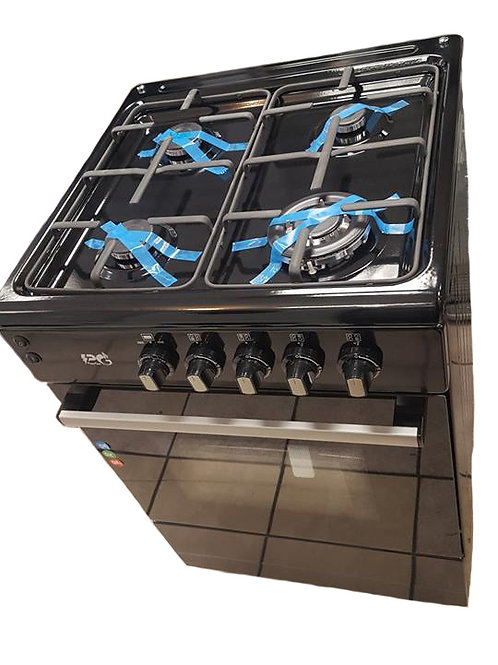PG60B Black 60cm Full Gas Cooker