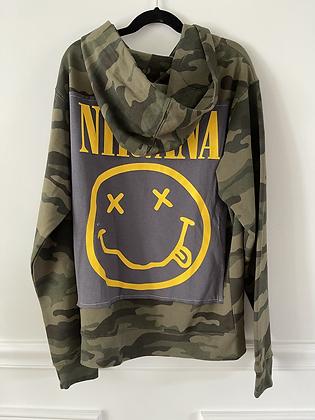 Youth Nirvana Upcycled Hoodie